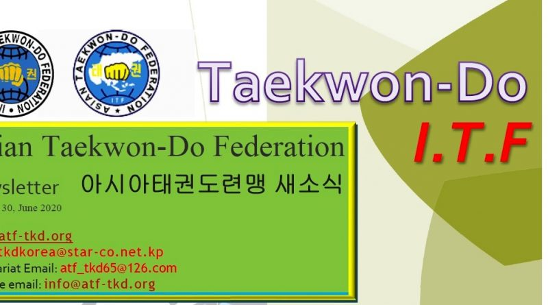 Taekwon-Do in Asia newsletter 2020
