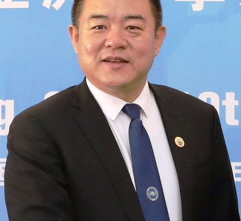Mr. Zhang Guang Jun Congratulatory letter to Mr. KEO REMY