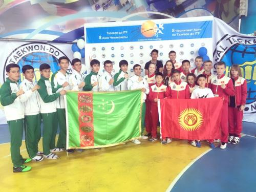 Turkmenistan ITF TKD activities S. 2