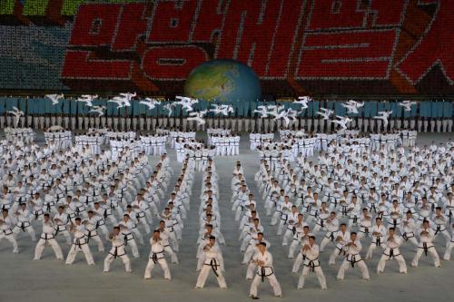 DPR Korea, Popularization of TKD