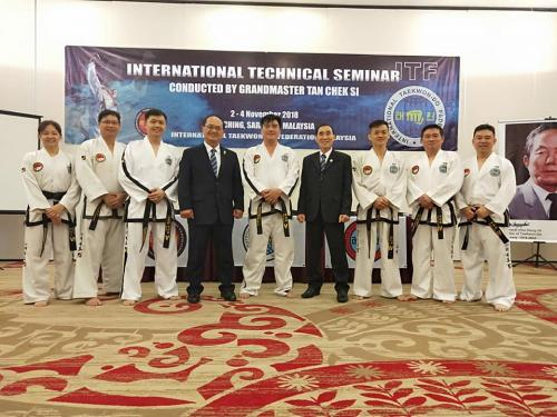 ITF Taekwon-Do in Singapore