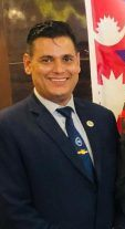 Mr. Anjan Dhamala congratulatory letter to MR. KEO Remy