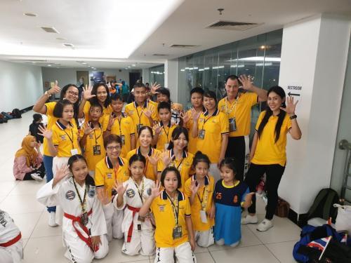 Thailand TKD Team in ASEAN