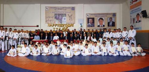 IRAN ITF celebrated 64th TKD BD